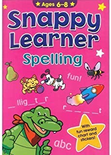 Spelling - Snappy Learner (Ages 6 To 8)