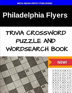 Philadelphia Flyers Trivia Crossword Puzzle and Word Search Book