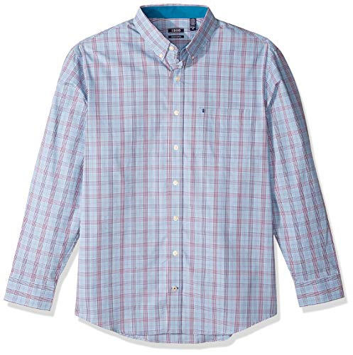 Cutter & Buck Men's Long Sleeve Epic Easy Care Royal Oxford Shirt, Monarch, Small