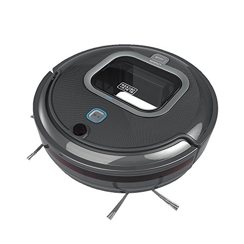 BLACK+DECKER Robot Vacuum with SMARTECH (HRV425BL)