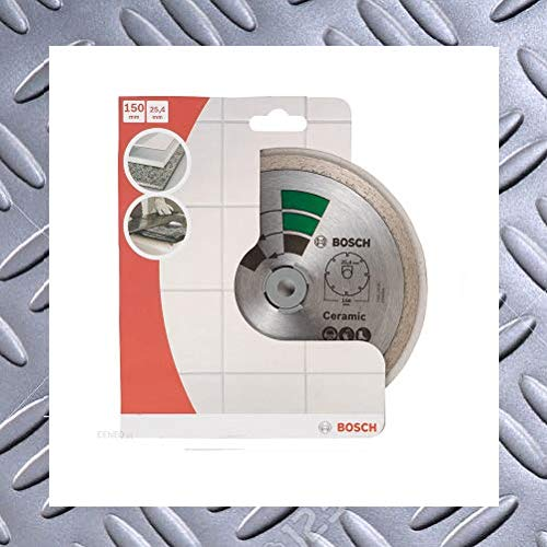 Bosch - Disco de corte de diamante (150 x 25,4 mm, para baldosas y mármol)