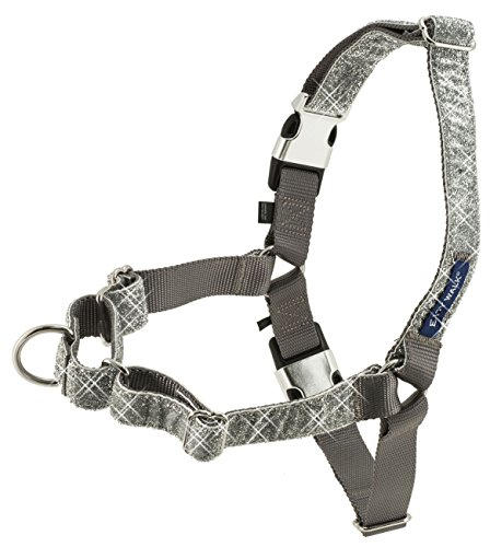 PetSafe Bling Easy Walk Harness, Small, Silver