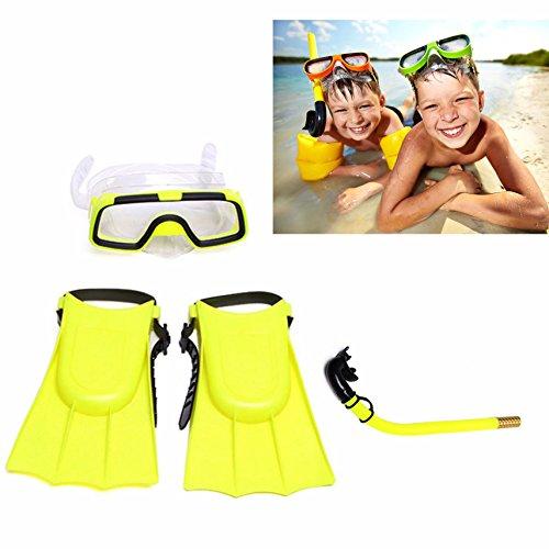 Gearmax Kid Dive Kinder Schnorcheln Taucherbrille Schnorchel taucherflossen Schwimmen Tauchen
