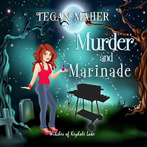 Murder and Marinade audiobook cover art