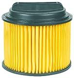 Original Einhell Ersatz-Faltenfilter mit Schraubdeckel (passend für Einhell Nass-Trockensauger, Anwendung beim Trockensaugen