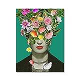 Frida Kahlo Poster Druck mit Kunst Definition in Spanisch