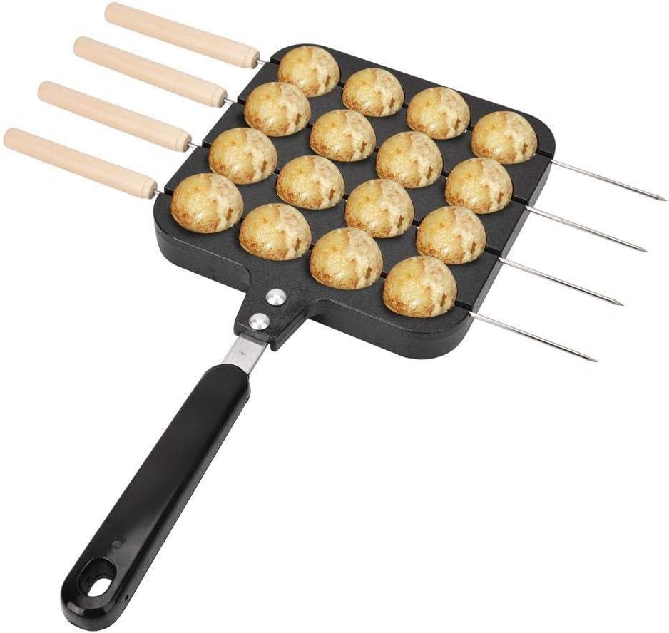 Regun Hornear Pulpo, Antiadherente Takoyaki Grill Pan Placa de Cocina Molde Bandeja de Horno