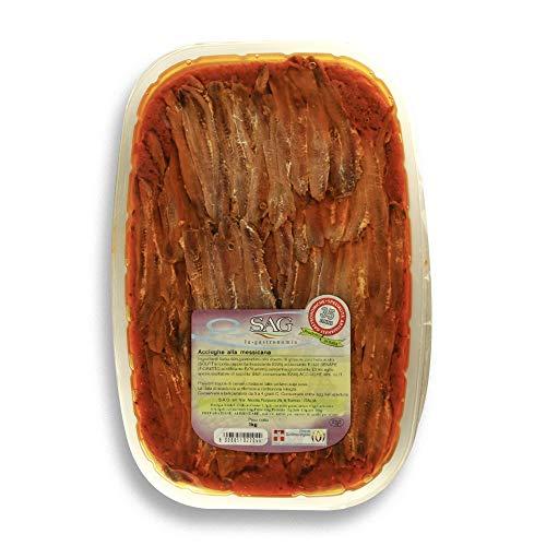 Filetti di acciughe in salsa rossa (Messicana) SAG – 4 pz. da 1 kg