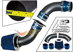RW SERIES - MATTE BLACK PIPE BLUE - SHORT RAM INTAKE Compatible For 98-01 Compatible Ford RANGER/MAZDA B2500