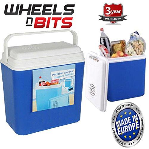 Wheels N Bits 22 Litre 12 Volt Cooler box Ice For Camping...