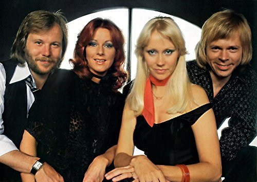 'perfect posters' A4 'ABBA' (C) Poster Print, DISPATCHED Within 24 Hours 1ST Class