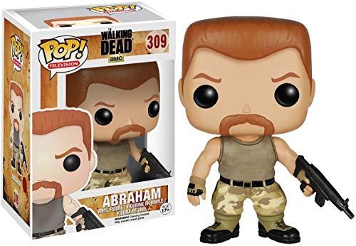 MMZ Funko Pop! The Walking Dead #21 Abraham (No Box Chibi,Multicolor