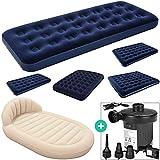 Deuba Luftbett Set mit elektrischer Luftpumpe Luftmatratze   Maße: 188 x 99 x 22 cm   Luftpumpe mit...
