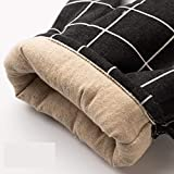 W.Z.H.H.H Handschuhe Verbrühschutzhandschuhe Verdickung Plus Baumwolle Isolierung Dampf rutschfeste Haushaltsküche Essential Handschuhe (Color : Mechanical Rabbit, Size : L)