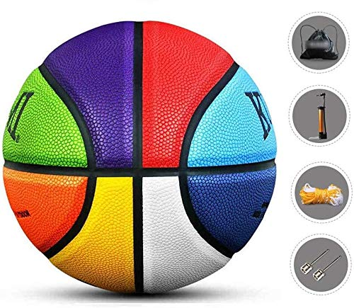 Great Features Of ZHOU.D.1 Basketball- Children's Standard Basketball Indoor and Outdoor No.4-5-6-7,...