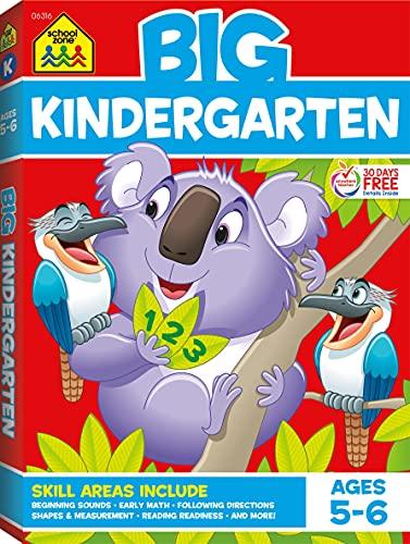 School Zone Big Kindergarten Workbook (Big Workbook)