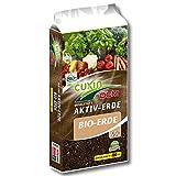 CUXIN DCM AKTIV-ERDE BIO-ERDE 45 l Sprossenanzucht Gemüseerde Kräutererde