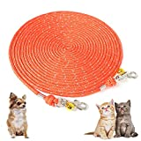 tipatyard Dog Tie Out Leash for Camping...