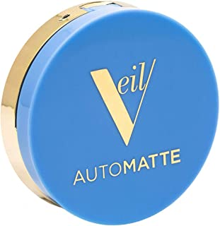 Veil Cosmetics Automatte Mattifying Balm for Poreless Face Makeup, Primer, Touch-Up, Paraben Free