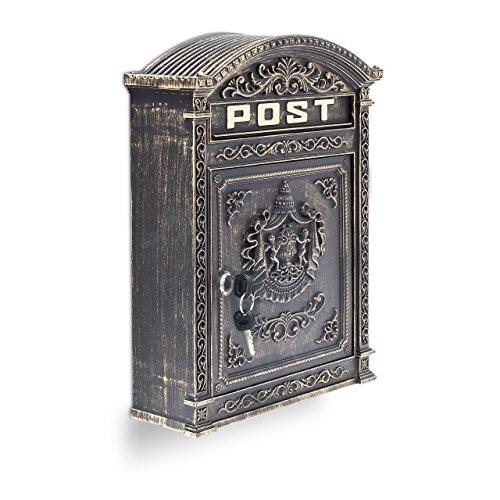Relaxdays -   Briefkasten Antik