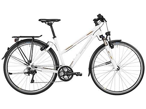 Bergamont Horizon LTD Damen Trekking Fahrrad Sondermodell weiß/gold/grau 2016: Größe: 56cm (177-184cm)