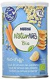 Nestlé Naturnes Bio Nutri Puffs Snack De Cereales Con Zanahoria, A Partir De 10 Meses - Pack de 5...