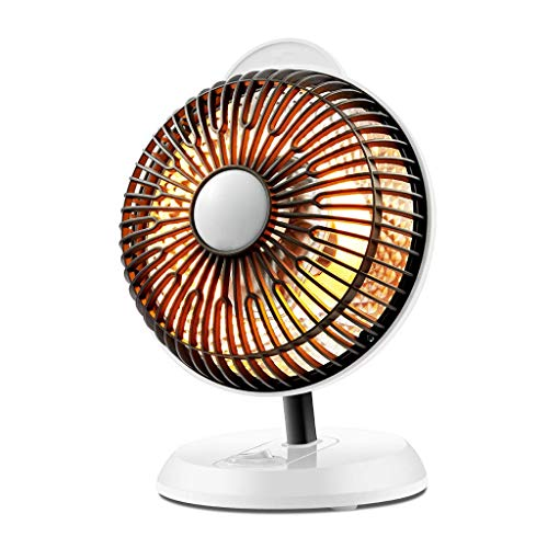 HYY-YY Calentador de Ventilador, Escritorio 200W ángulo Ajustable silenciosa Calentadores eléctricos similares a Sun Ahorro de Energía compartida Ministerio del Interior