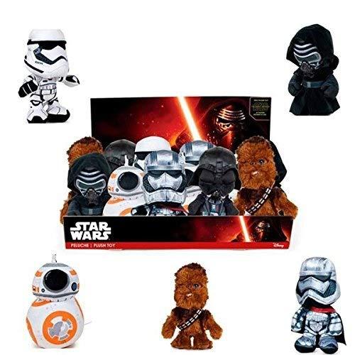 Star Wars - Peluche Yoda, El Despertar de la Fuerza, 17 cm (Famosa 760013300), Modelos surtidos