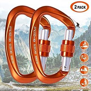 Meccanismo di serraggio per Corda in Alluminio Piccolo con moschettone LQMILK Tenditori per moschettone Confezione meccanismo di serraggio per Corda in Alluminio