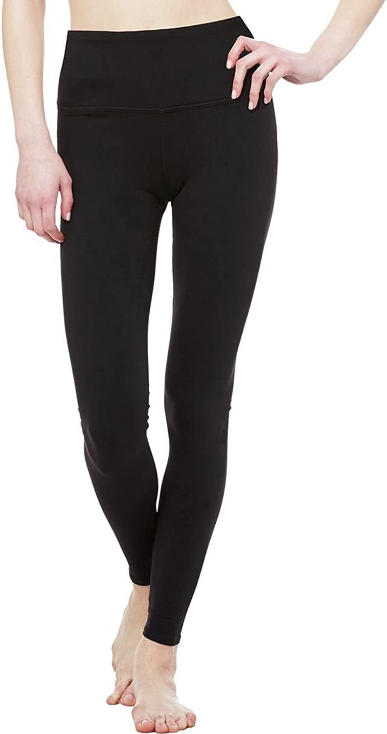 ALO Women's High Waist Airbrushed Leggings Black Pants