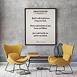 Rac76yd Cita de amistad 1er papel regalo recién casado cita regalo mejor amigo regalo para mejor amigo arte