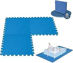 Générique 8 Dalles Tapis de Sol modulable pour Piscine - 50 cm x 50 cm
