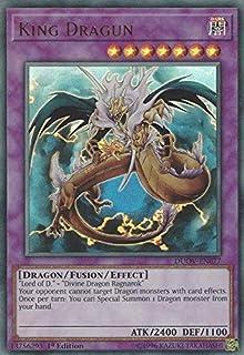 King Dragun - DUOV-EN077 - Ultra Rare - 1st Edition