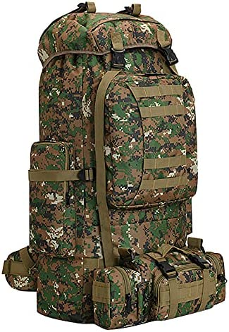 100L Camping Hiking Backpack,Molle military Tactical...