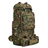 100L Camping Hiking Backpack,Molle military Tactical rucksack backpack,Waterproof Lightweight Hiking...