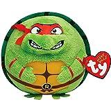Ninja Turtles Raphael 534; Ty Beanie Ballz (Each) - Party Supplies