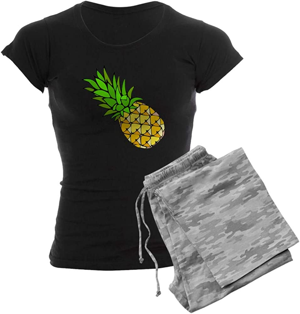 CafePress Psych - Pineapple.GIF PJs Credence Mail order Dark Women's