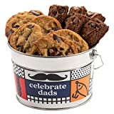 A Must On Your List: Give your beloved father the chance to experience a sweet Father's Day with David's Assorted Cookies bucket sampler, a stunning and mouth-watering combination of taste and texture which will satisfy even the pickiest connoisseurs...