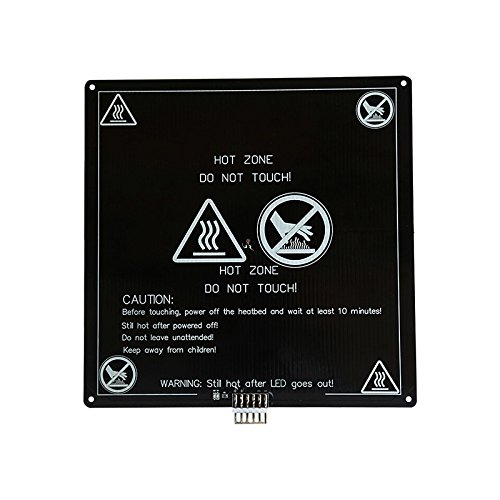 Coomir verwarmingsbed van aluminium voor 3D-printer, 220mmx220mm