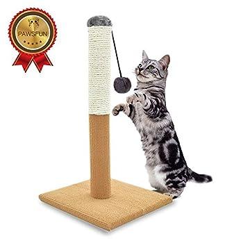 Engagez vos chats de jouer et de faire de l'exercice ainsi que fournit une prise saine pour instinct de chasse naturel de votre chat. À suspendre à l'herbe à chat en peluche interactive sur le haut pour plus de fun, plateforme recouverts d'un matéria...