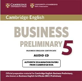 Cambridge English Business 5 Preliminary Audio CD (BEC Practice Tests)
