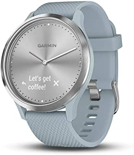 Garmin Vivomove HR Rubber Watch (Blue)