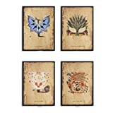 xwwnzdq Monster Hunter Leinwand Malerei Kunstdruck Poster