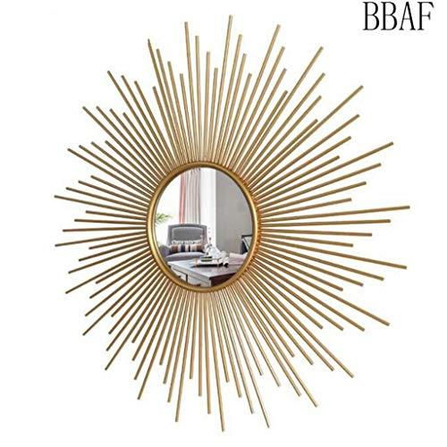 Colgar De La Pared Espejo De Baño De Metal Starburst Contemporáneo Decorativo Tocador Hermosa Ligero Y Elegante 0310 (Size : B)