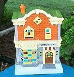 Christmas Village Houses, Cobblestone Corners Christmas 2020 Winter Village General Store Building