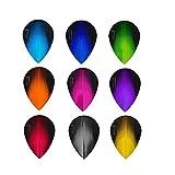 5x juegos HARROWS Sonic Mixed Color plumas para dardos pera