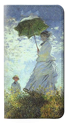 RW2415 Claude Monet Woman with a Parasol Flip Case Cover For IPHONE 5 5S