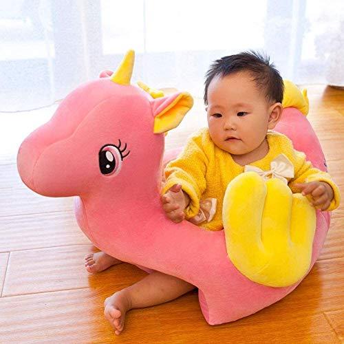 Poltrone NUBAO Giocattolo Baby Sofa Chair Animal Toddler Divano Protector Couch Letto Infante Sedie Sedie per Supporto del Cuscino del Cuscino del Sedile dei Giocattoli dei Bambini (Color : Pink)