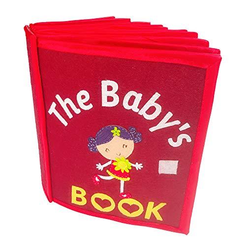 Miss-an Cloth Book,Kid's Picture Manual Dreidimensionales Buch für die frühe kognitive Entwicklung Kids Toy Cloth Books(Unvollendete Bücher)