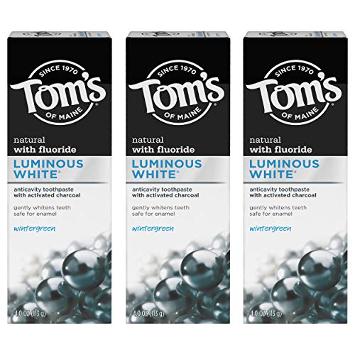 Tom's of Maine Luminous White Toothpaste With Charcoal oz....